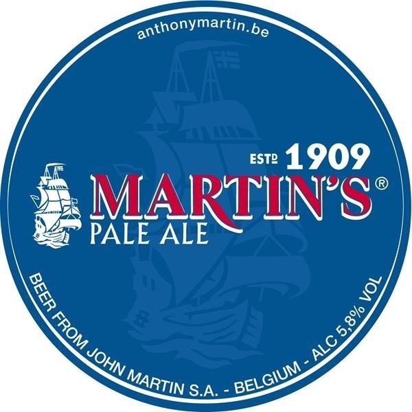 logo martins pale ale